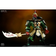 Romance of the Three Kingdoms - Guan Yu 30cm Classic Green Version Vinyl Collectible Action Figure