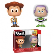 Funko VYNL 2-Pack Toy Story - Woody and Buzz Vinyl Figures