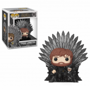 Funko POP! Deluxe GOT S10 - Tyrion Sitting on Iron Throne Vinyl Figure 10cm