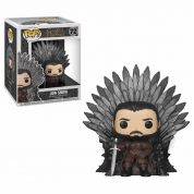 Funko POP! Deluxe GOT S10 - Jon Snow Sitting on Iron Throne Vinyl Figure 10cm