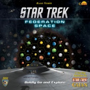 Star Trek Catan Federation Space Map Set - EN