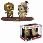 Funko POP! Star Wars Movie Moment: C-3PO on Throne/Encounter On Endor Vinyl Figure