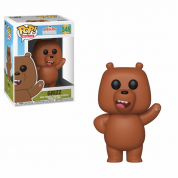 Funko POP! We Bare Bears - Grizzly Vinyl Figure 10cm