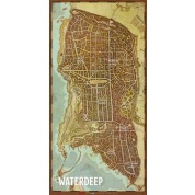 "D&D: Waterdeep Vinyl Game Mat 20""x 40"""