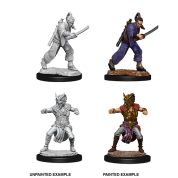 D&D Nolzur's Marvelous Miniatures - Male Human Monk (6 Units)