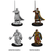 D&D Nolzur's Marvelous Miniatures - Male Human Cleric (6 Units)