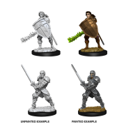D&D Nolzur's Marvelous Miniatures - Male Human Fighter (6 Units)
