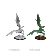 D&D Nolzur's Marvelous Miniatures - Young Green Dragon (6 Units)