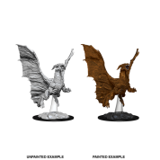 D&D Nolzur's Marvelous Miniatures - Young Copper Dragon (6 Units)