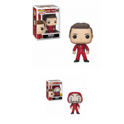 Funko POP! Money Heist - Berlin Vinyl Figure 10cm Assortment (5+1 chase figure)