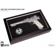 Marvel Universe - Agent Nick Fury's Electronic Needle Gun 16-inch Prop Replica w/ Light- and Sound effects