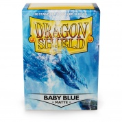 Dragon Shield Standard Sleeves - Matte Baby Blue (100 Sleeves)