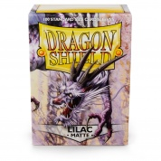 Dragon Shield Standard Sleeves - Matte Lilac (100 Sleeves)