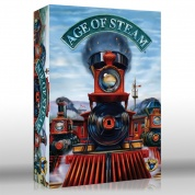 Age of Steam Expansion: Southern US & Western US - EN