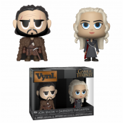 Funko VYNL 2-Pack: Game of Thrones - Jon & Daenerys Vinyl Figures 10cm