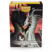 Dragon Shield Standard Art Sleeves - Valentine Dragons (100 Sleeves)