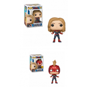 Funko POP! Captain Marvel - Captain Marvel Vinyl Figure 10cm Assortment (5+1 chase figure)
