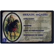 Defenders of the Realm - Errant Paladin (Card Only) - EN