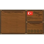 Empires: Age of Discovery Ottoman Player Board & Gold Figures - EN