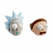 Funko POP! Home - Egg Cup Set: Rick & Morty - Rick & Morty