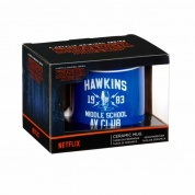 Funko POP! Home - 20oz Mug: Stranger Things Hawkins AV Club