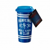Funko POP! Home - Lidded Mug: Hawkins AV Club