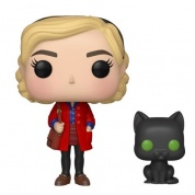 Funko POP! & Buddy: Chilling Adventures - Sabrina w/ Salem Vinyl Figure 10cm