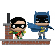 Funko POP! Comic Moment Batman 80th - 1964 Batman and Robin Vinyl Figures
