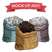 Seize the Bean: Resource Sacks (3-Pack)