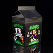 Seize the Bean: Milk Carton Deck Box (Black)