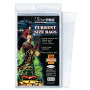 UP - Comic Bags - Current Size Re-Sealable (100 Bags)