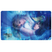 Final Fantasy TCG Supplies - Play Mat - FFX HD Remaster Tidus/Yuna