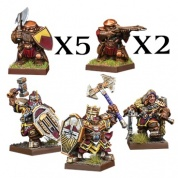 Kings of War: Vanguard - Dwarf Warband Set - EN