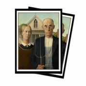 UP - Sleeves Standard - Fine Art - American Gothic (65 Sleeves)
