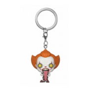Funko POP! Keychain IT: Chapter 2 - Pennywise w/ Dog Tongue Vinyl Figure 4cm