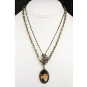 Twilight Breaking Dawn Edward Double Chain Necklace