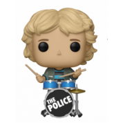 Funko POP! Rocks The Police - Stewart Copeland Vinyl Figure 10cm