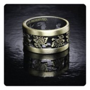 Twilight Breaking Dawn Part 2 Ring LIONS (Metal, Size 8 1/2)