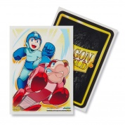 Dragon Shield Classic Art Sleeves - Mega Man & Rushd (100 Sleeves)