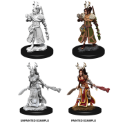 D&D Nolzur's Marvelous Miniatures - Female Human Druid (6 Units)