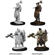 D&D Nolzur's Marvelous Miniatures - Female Half-Orc Barbarian (6 Units)