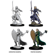 D&D Nolzur's Marvelous Miniatures - Female Elf Paladin (6 Units)