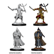 D&D Nolzur's Marvelous Miniatures - Male Elf Paladin (6 Units)