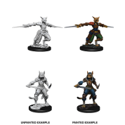 D&D Nolzur's Marvelous Miniatures - Female Tabaxi Rogue (6 Units)