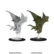 D&D Nolzur's Marvelous Miniatures - Young Bronze Dragon (6 Units)