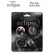 Twilight Eclipse Pin Set Jacob & Bella (4)