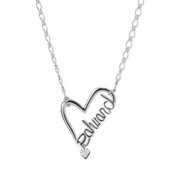 Twilight Eclipse – Necklace Edward Script Heart