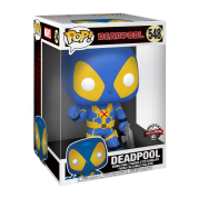 "Funko POP! POP Marvel: 10"" Deadpool - Thumb Up Blue Deadpool Figure"