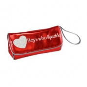 Twilight Eclipse Red Sparkle Clutch (I heart boys who sparkle)