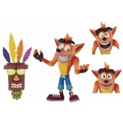 Crash Bandicoot - Ultra Deluxe Crash Bandicoot Action Figure 18cm
